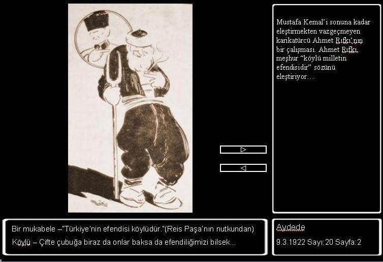 Karikatürler ile Mustafa Kemal Atatürk